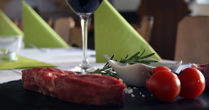 Frisches Steak